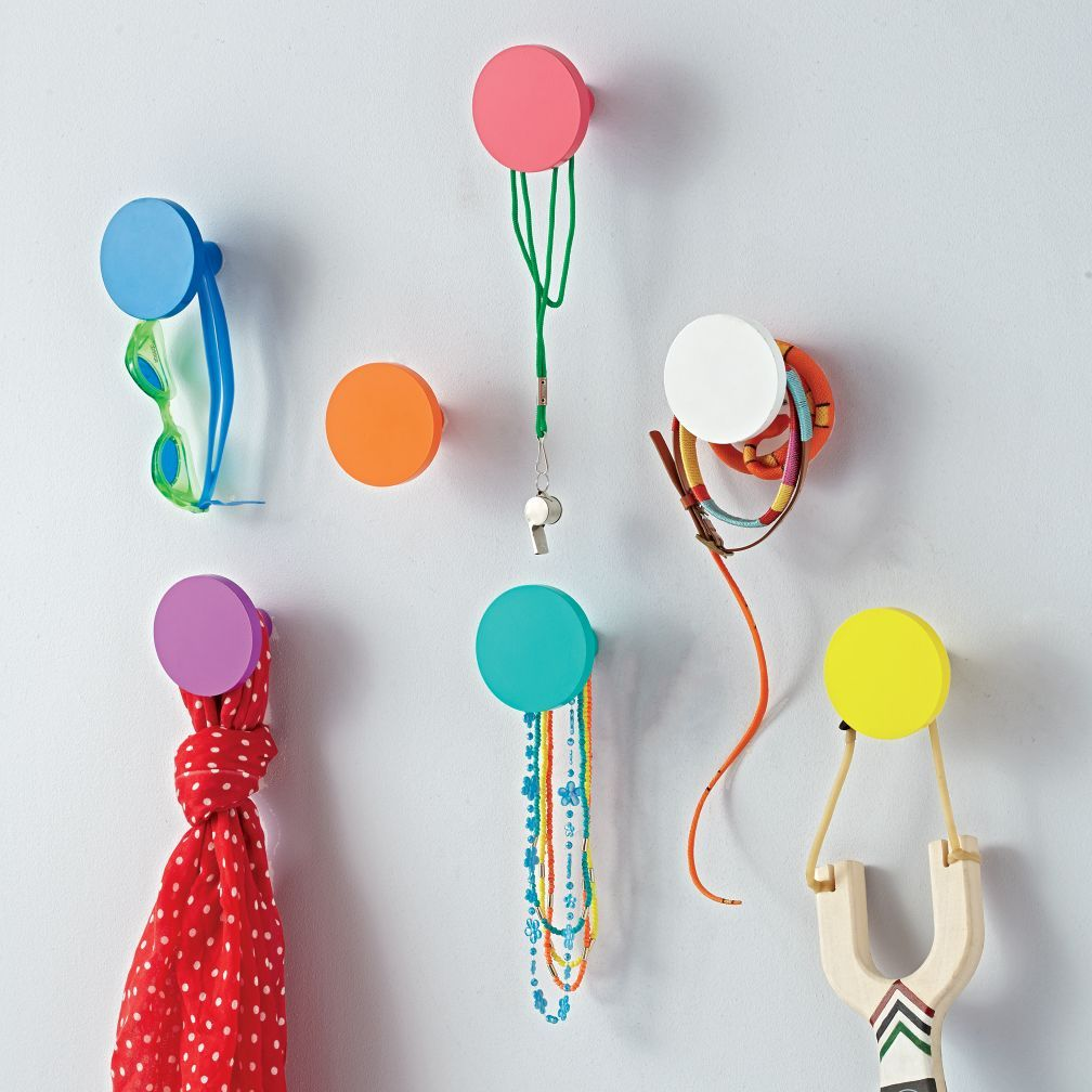 Kids Wall Hooks Round S Research Shows That Most Who Leave Their Jackets On The Floor Do So Because They Simply Can