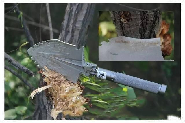 Wolf Thorn Hunter Survival Shovel by Zune Lotoo