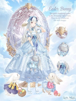 Easter Bunny Love Nikki Dress Up Queen Wiki Fandom Powered By Wikia Kỳ ảo Phục Sinh Anime