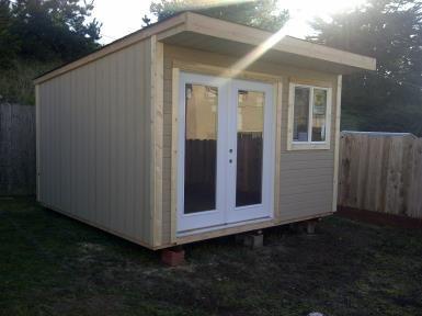 Single Slope Roof Shed Shed Plans Summer House