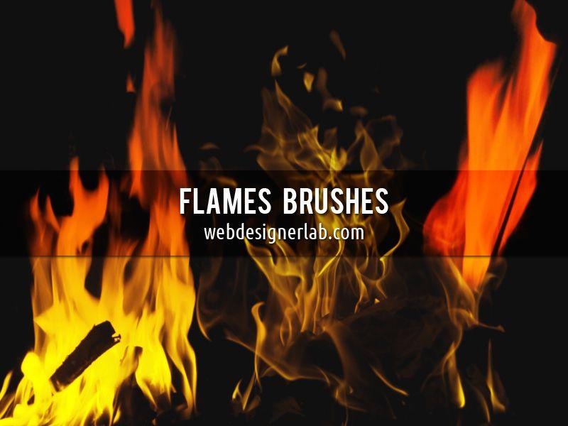 Flames Brushes Photoshop Brushes Free Brush Photoshop Brushes
