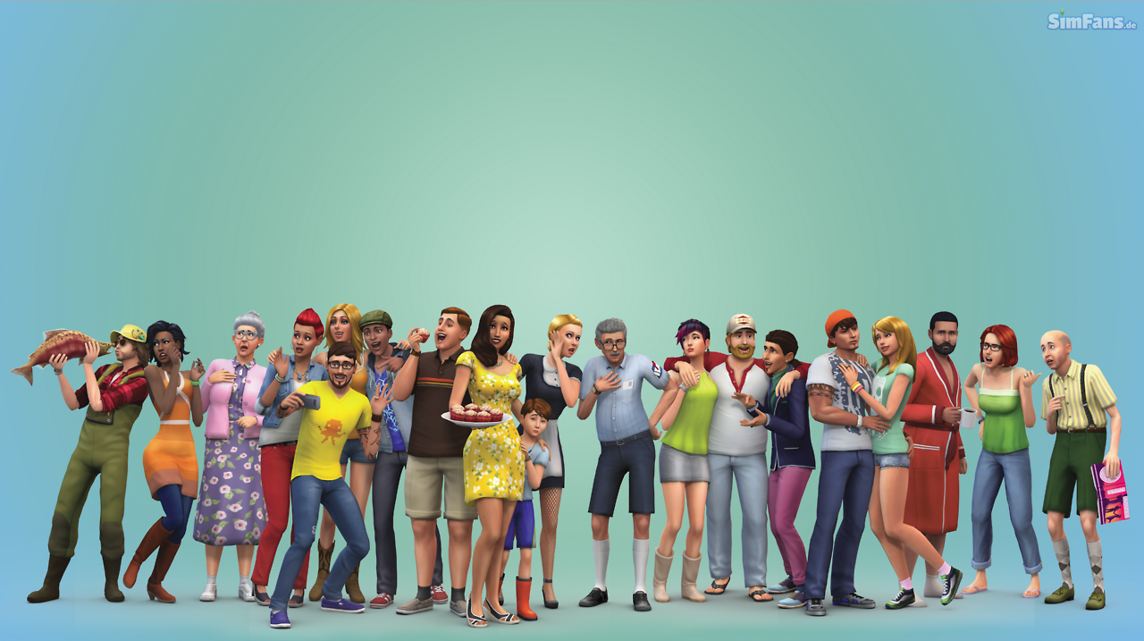 Simfansde Published Some Exclusive The Sims 4 Wallpapers With