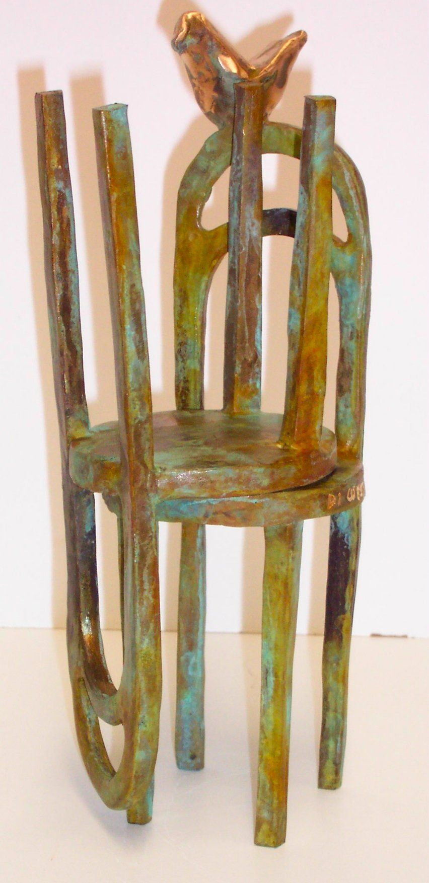 chairs in bronze Fine Art Bronze Petite Sculpture