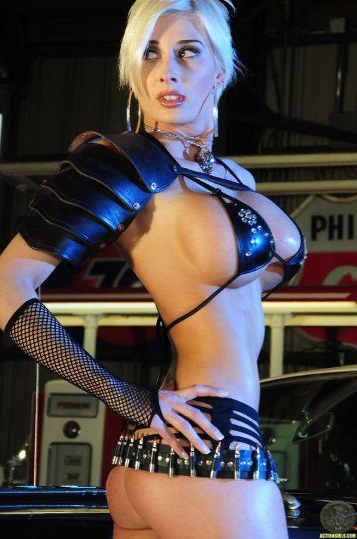 Sexy Zwerge Vollbusige Mädchen cosplay auf