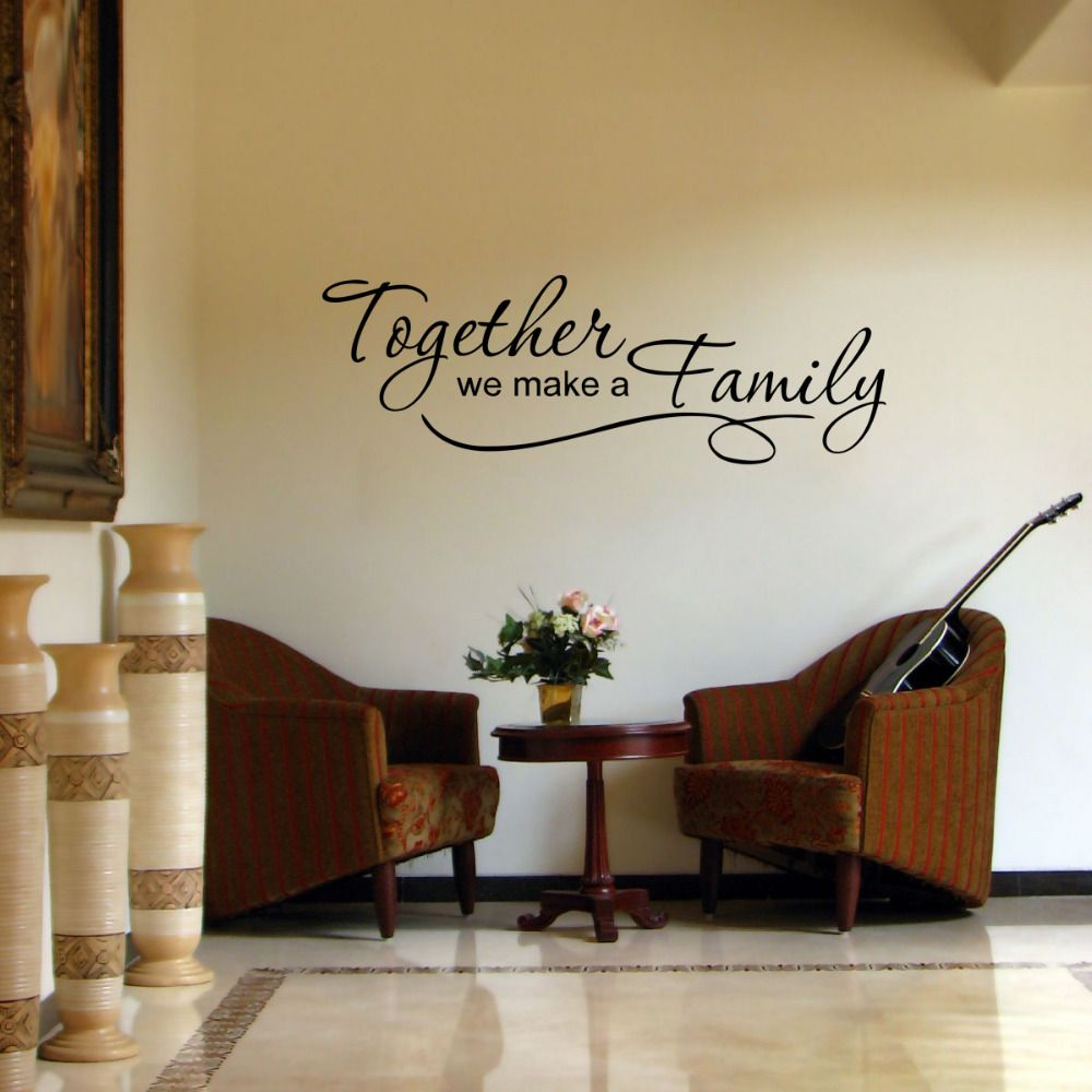 Find More Wall Stickers Information About Connoch Family Quote