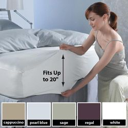 Sealy Super Fit 300 Thread Count Deep Pocket Sheet Set Ping The Best Deals On Sheets