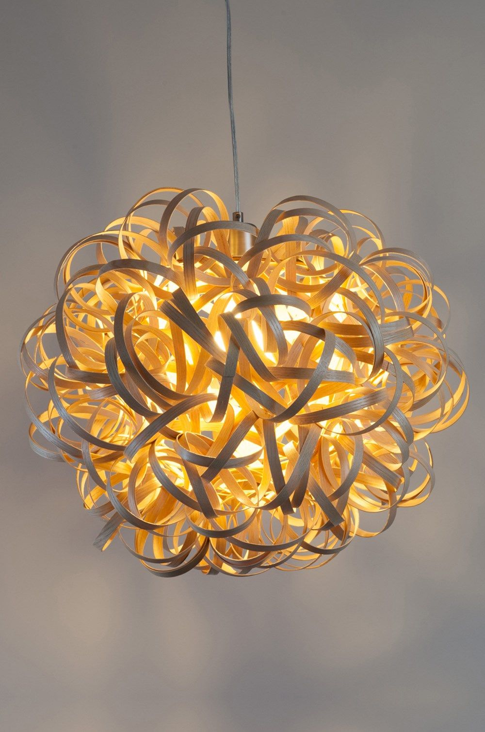 Steam Bent Ash Lampshade By Tom Raffield Radiance Tom Raffield Wood Lamps Radiance