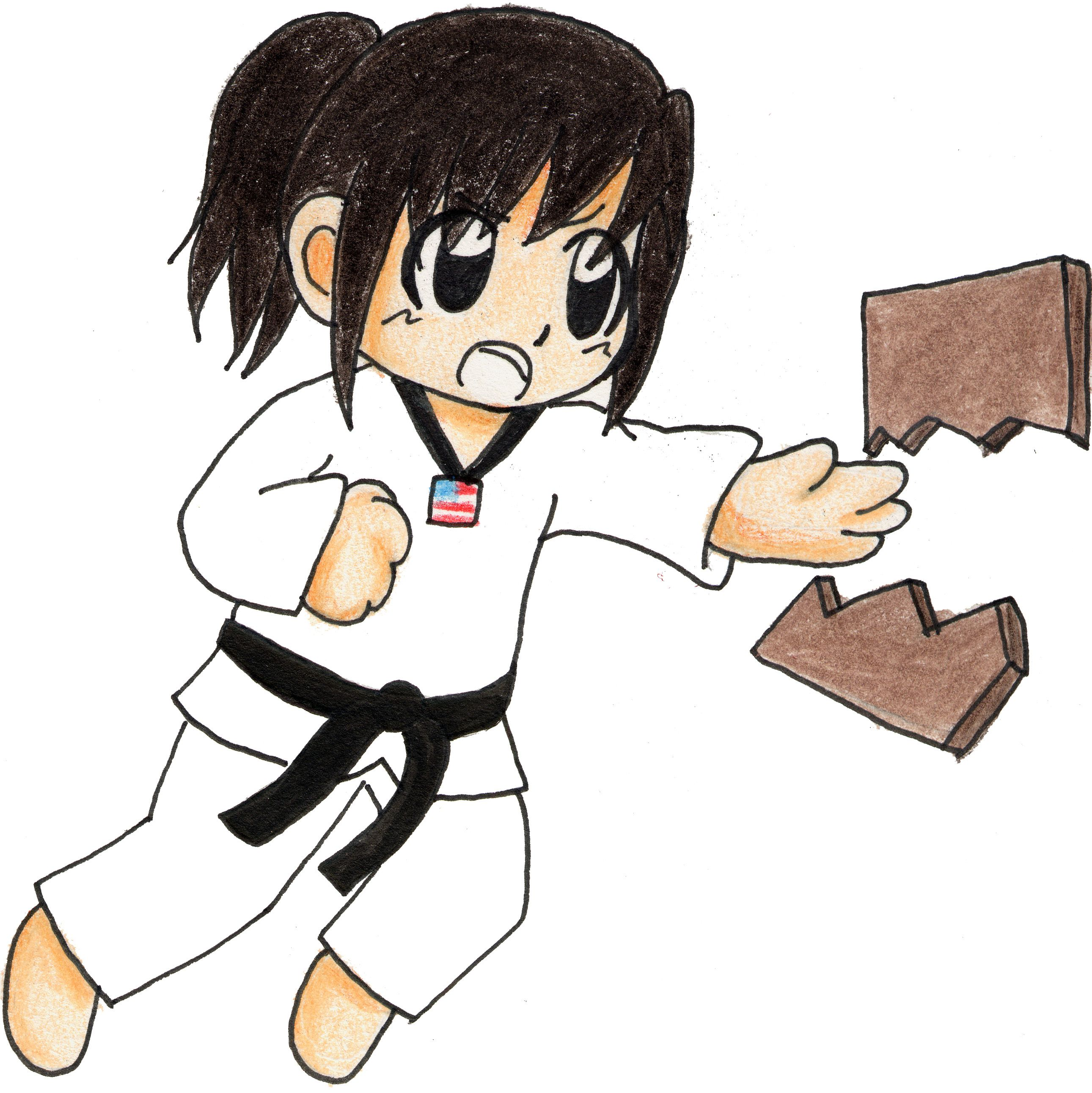 taekwondo clip art free - Google Search | ART DRAWING/PAINTING ...