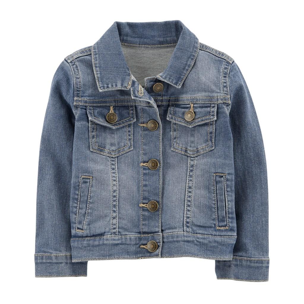4a7c0e9fefc7 Toddler Girl Carter s Denim Jacket in 2018
