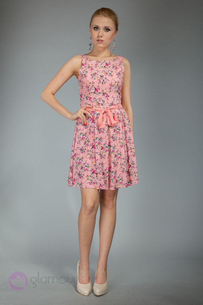 Sukienka Mini W Kwiaty Rozowa M 38 4328389344 Oficjalne Archiwum Allegro Dresses Summer Dresses Pulitzer Dress