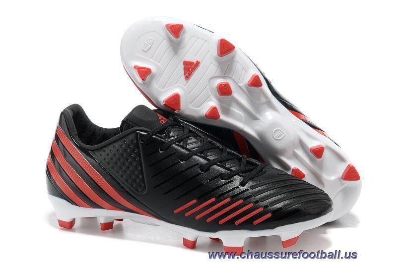 great look elegant shoes watch adidas predator lz TRX FG Van Persie Noir Rouge FT1725 Vente ...