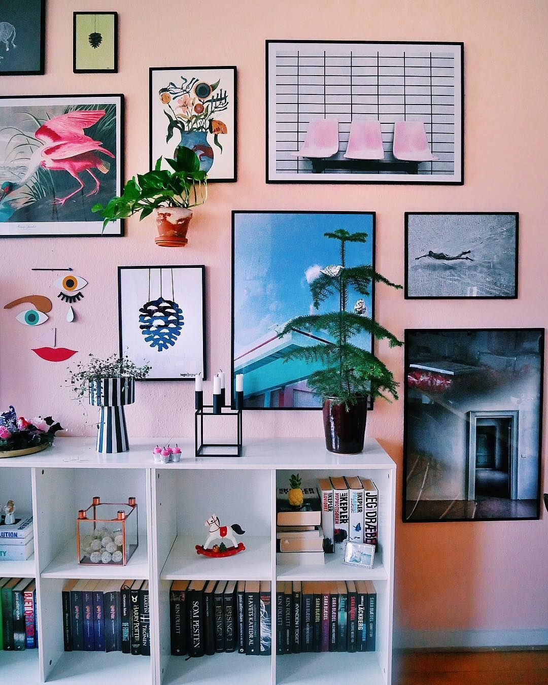 Colorful Wall Art Gallery Diy Room Decor Room Decor Bedroom