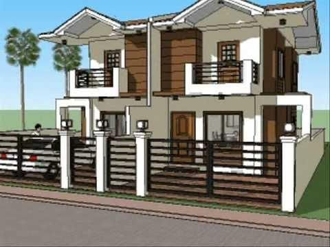 Amazing Architectural Duplex House Design With Wonderful