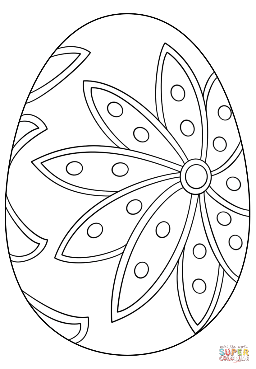 Fancy Easter Egg Coloring Page From Easter Eggs Category Select From 29153 Printable Crafts Of Cartoons Coloring Easter Eggs Egg Coloring Page Coloring Eggs