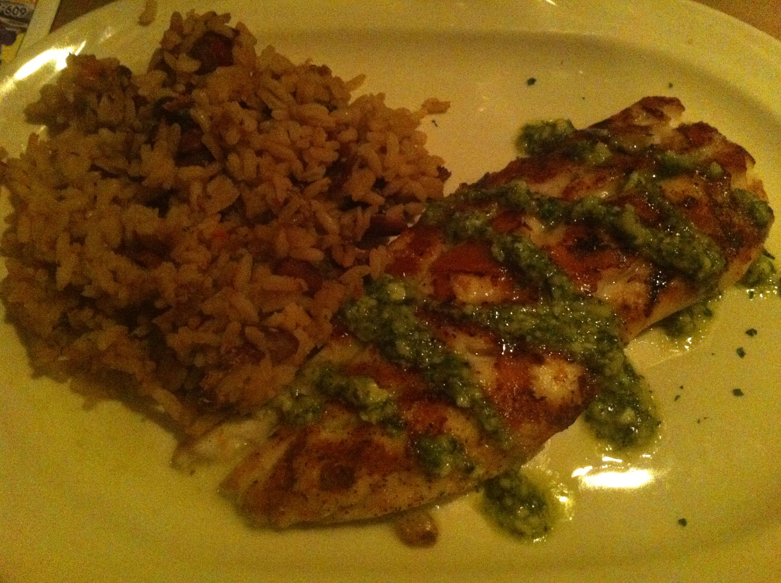 Grilled Grouper at the Black Whale Bar & Fish House in Beach Haven NJ.
