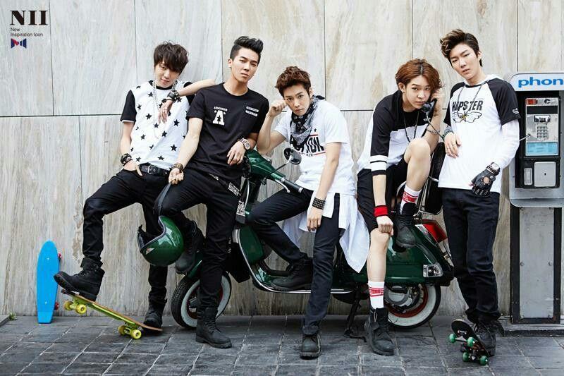 NII and Winner, #jinwoo #seungyoon #seunghoon #mino #taehyun #kpop #YG