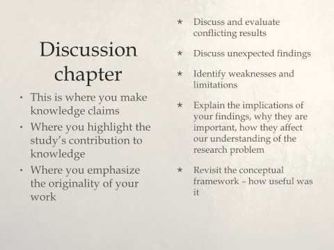 Result Discussion Conclusion Chapter Youtube Discus Research Projects How To Write The And Section Of A Paper