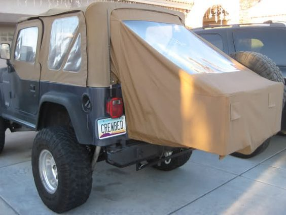 Crewbed Jeep Bed Extender Crewbed Parts Sleeper Storage Jeep Wrangler Camping Jeep Tent Jeep