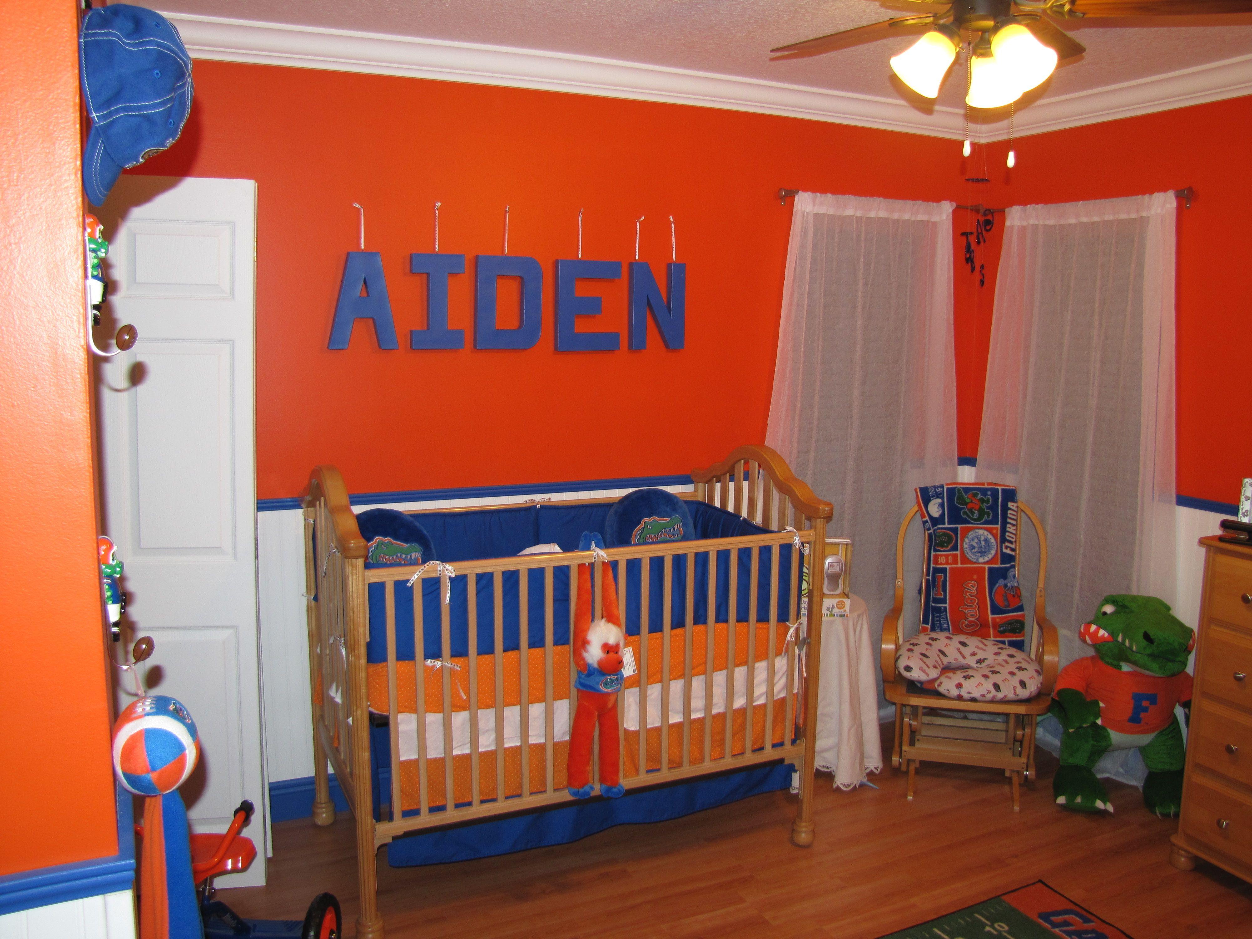 Aidenu0027s Florida Gator Nursery