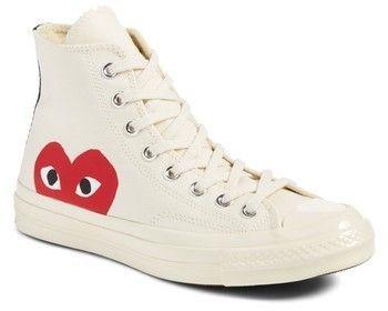 25b13cc5aadc Comme des Garcons x Converse Chuck Taylor(R) - Hidden Heart High Top Sneaker