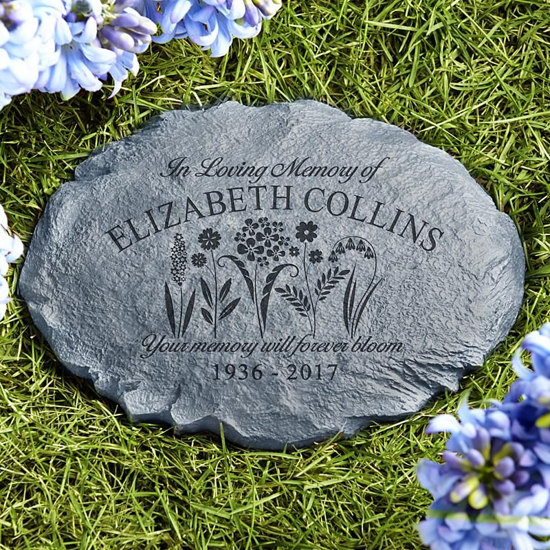 memories bloomed sympathy garden stone gardens