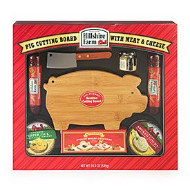 Hillshire Farm® Meat & Cheese Deluxe Pig Board | Christmas ...