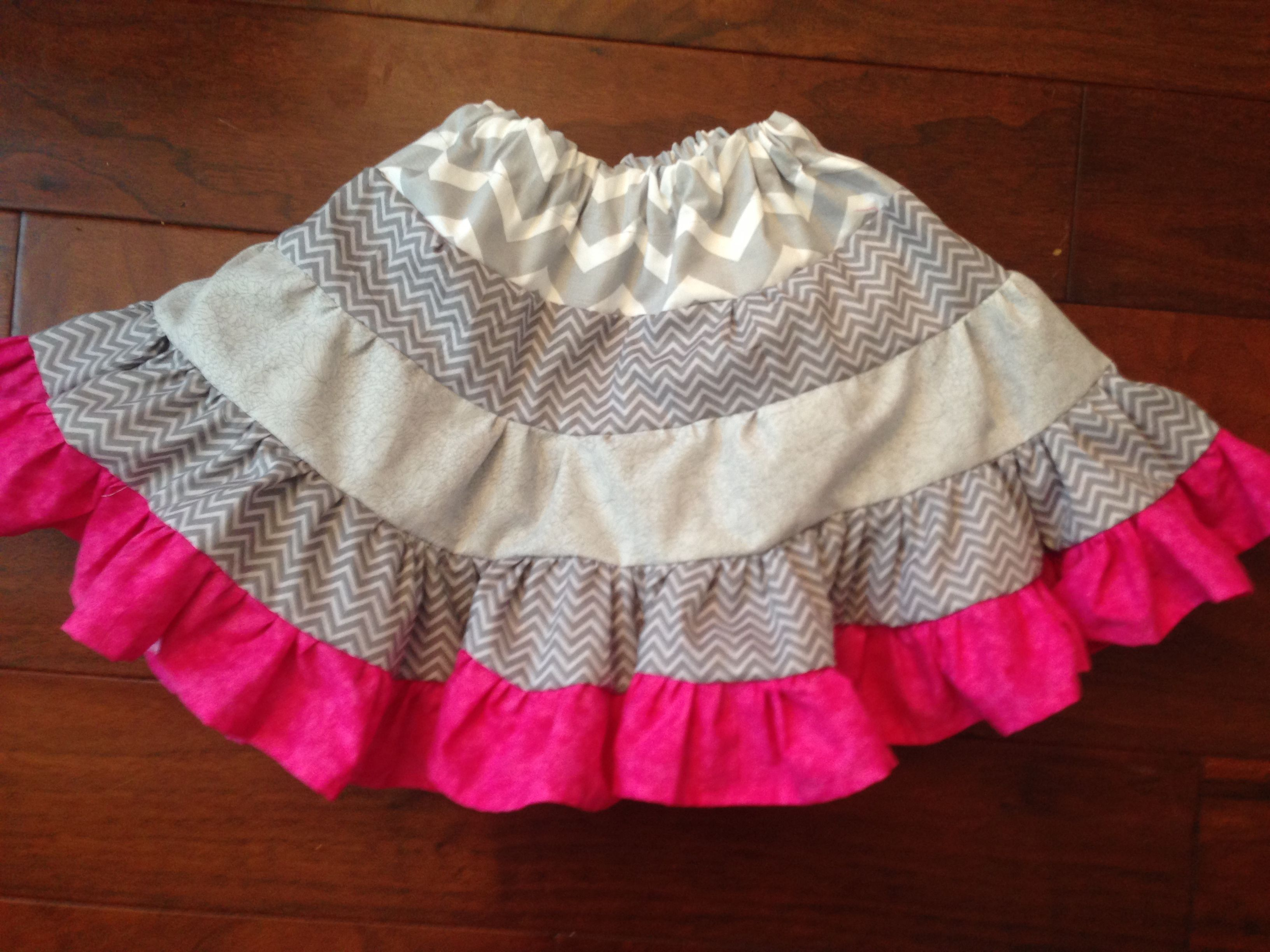 Twirl Skirt - Linking to the tutorial I used to make this