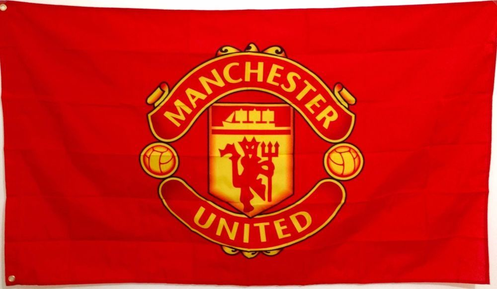 Manchester United Flag Banner 3 X 5 Feet Reds England Premier Football Soccer Manchester United Wallpaper Manchester United Logo Manchester United