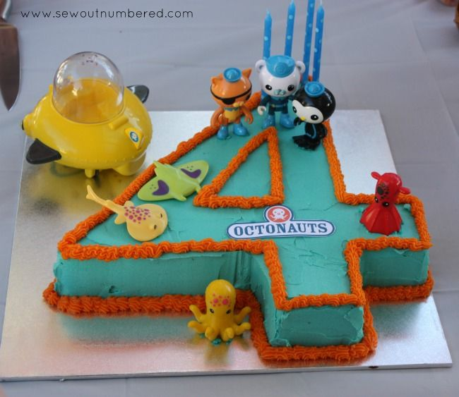 Octonauts Birthday Party Including Links To Printables And Tips Make Your Own