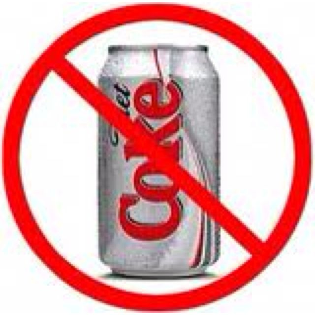 Diet Soda, Diet Coke, Stop Drinking Soda
