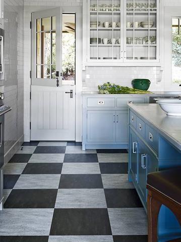 Fashionable Kitchen Flooring Idea Modern Style Kitchen