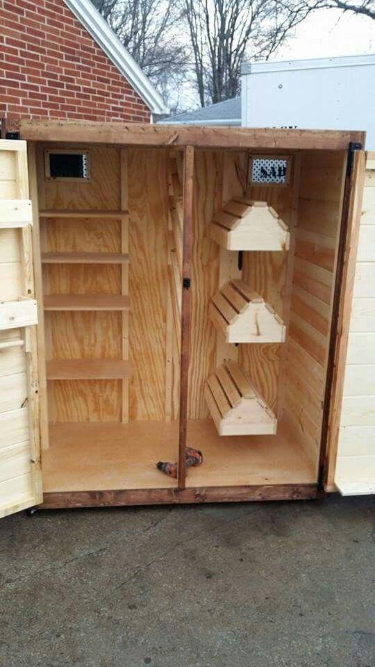 Tack locker pinteres for Tack shed plans