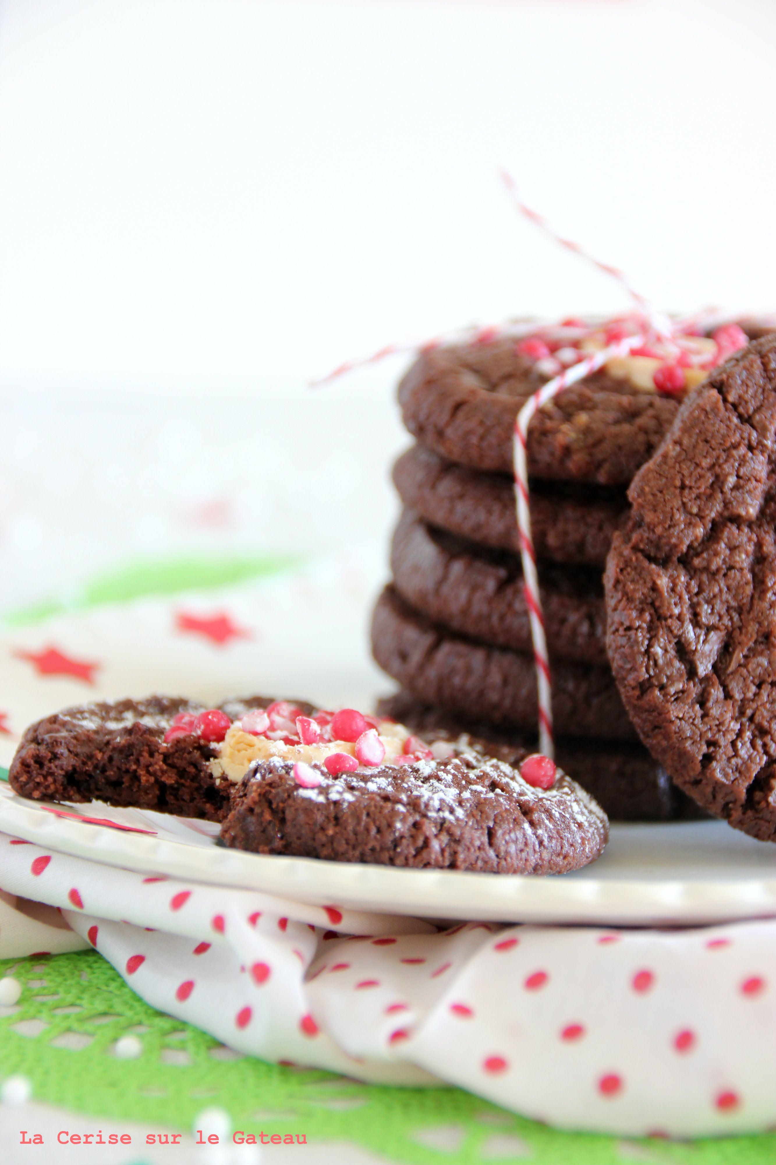 Waiting for Christmas / DAY 4 Cookies au chocolat noir & à la fleur de sel