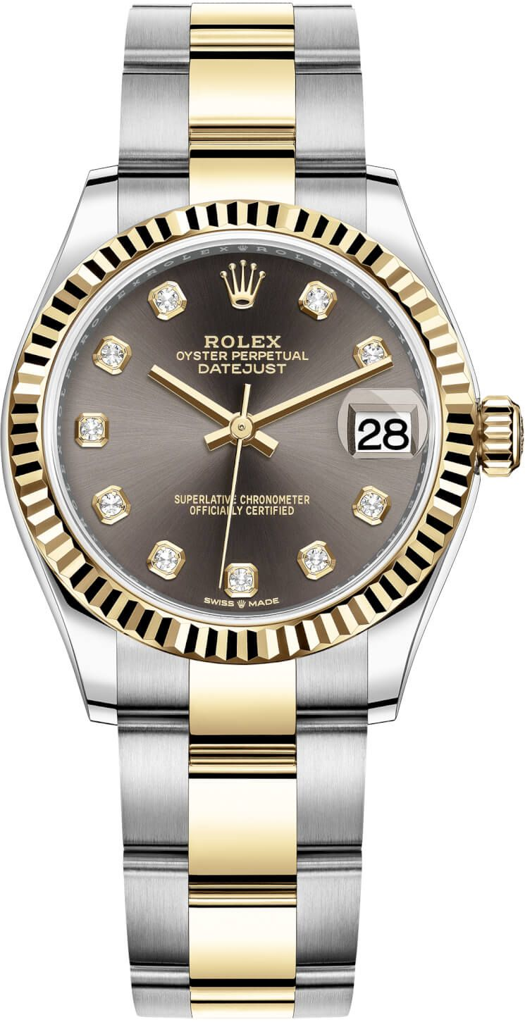 Rolex Datejust 31mm Stainless Steel and Yellow Gold 278273