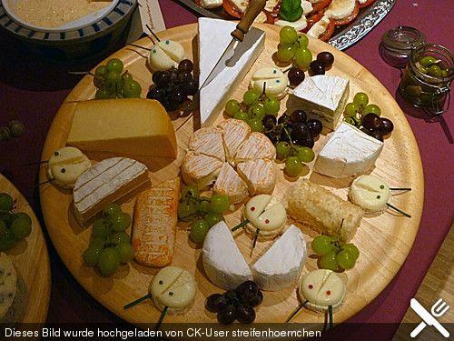 Käseplatte von kochschlumpfine | Chefkoch #brochetteapero