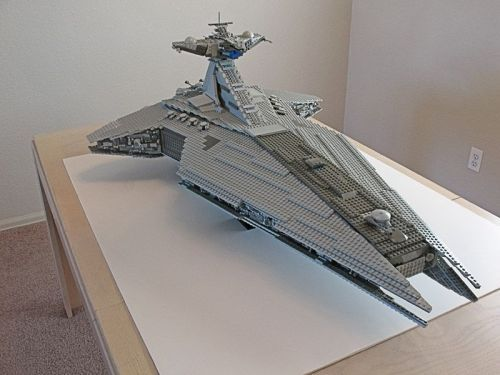 Lego Republic Star Destroyer - love because my fiance loves