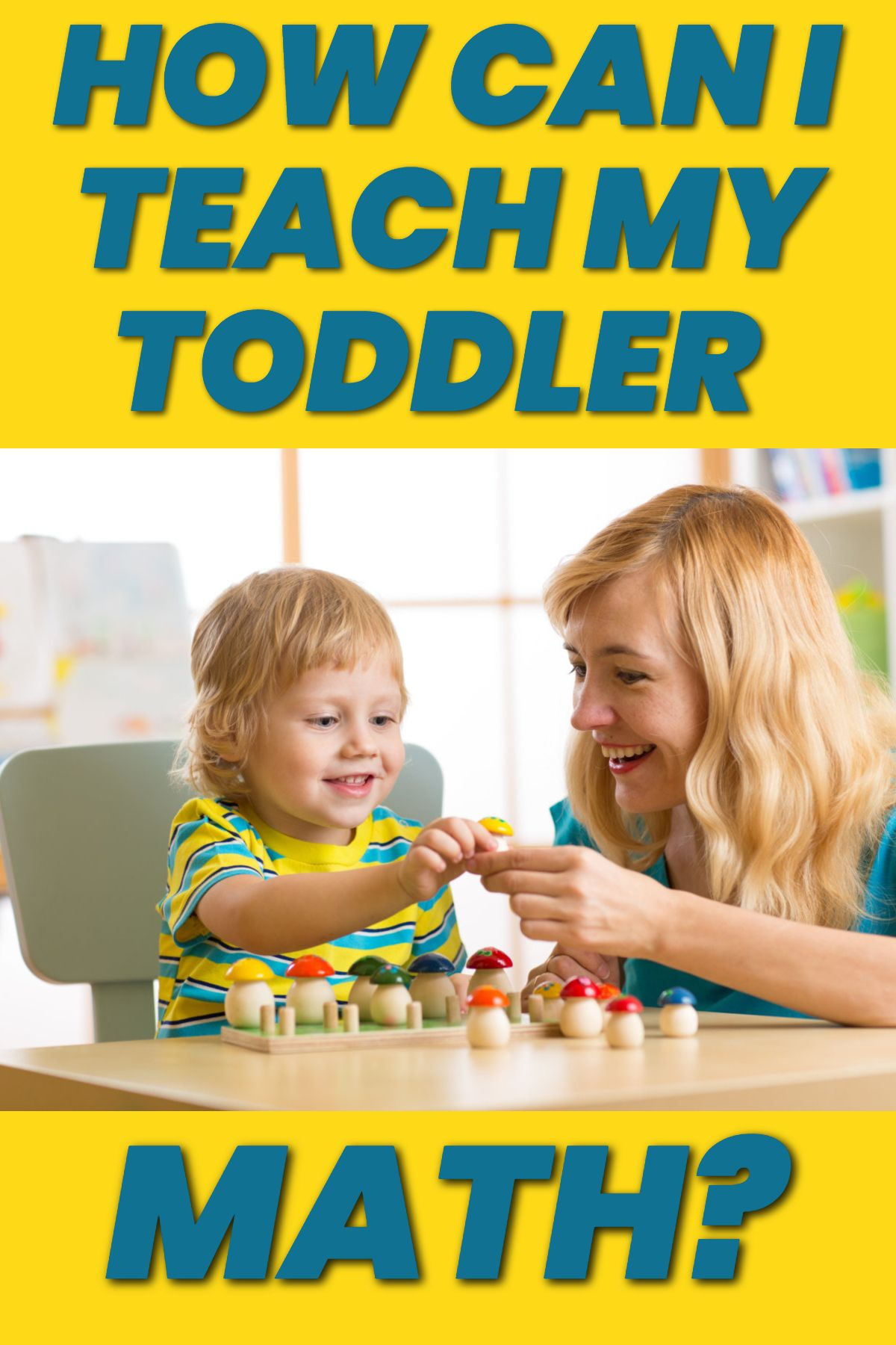 Easy Math Activities For Infants And Toddlers