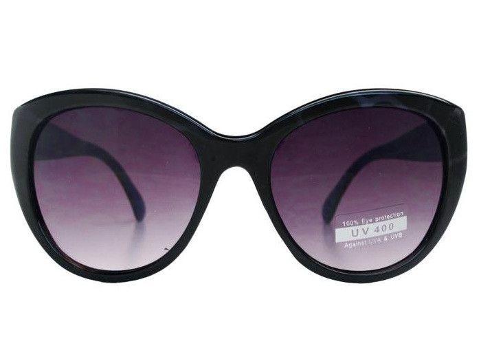 Round Cat Eye Sunglasses C062 Blue Tortoise