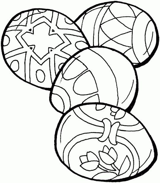 free coloring pictures easter eggs - Google Search: | colorear ...