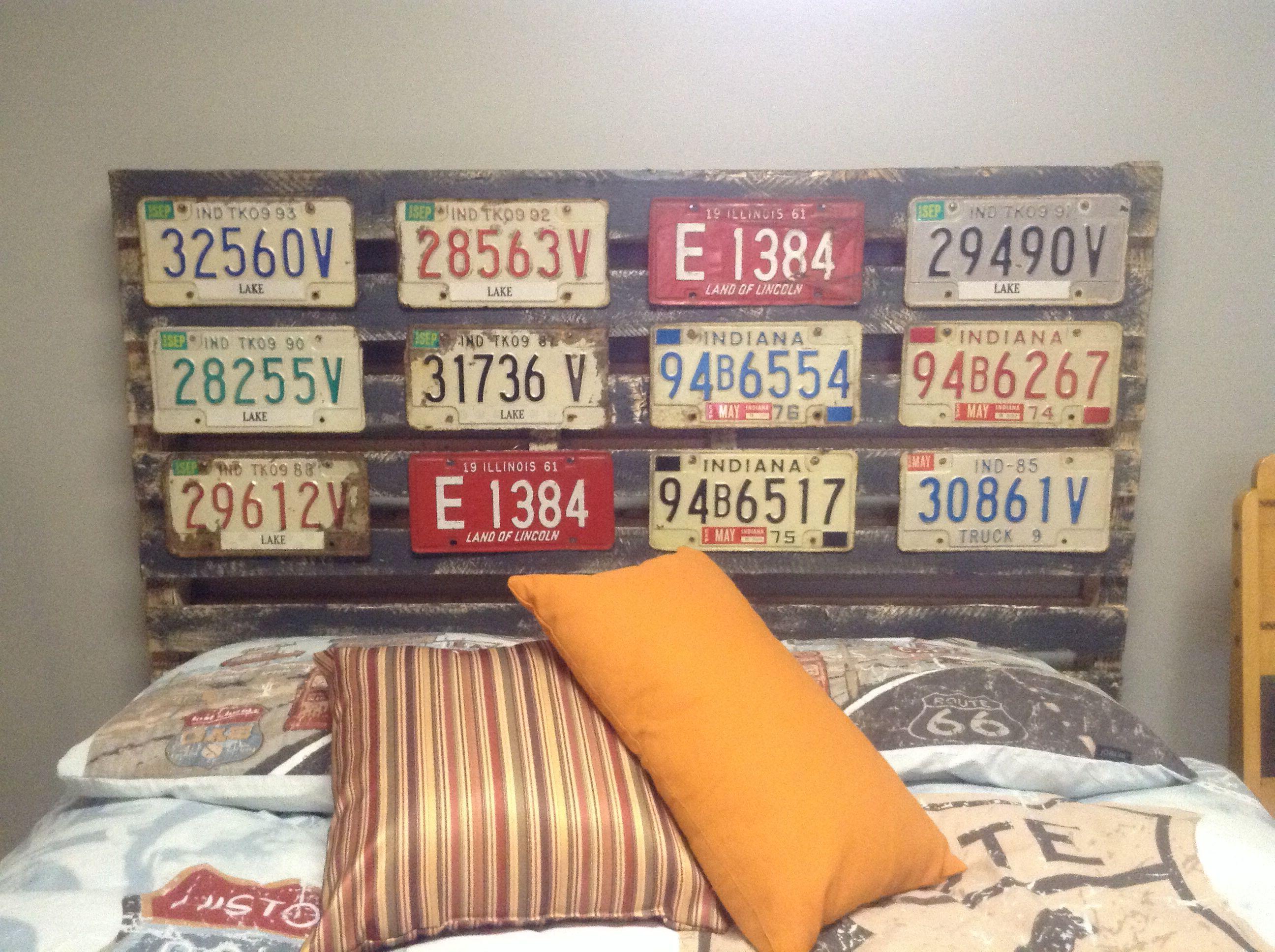 redecorating bedroom Restroom tin sign car plate