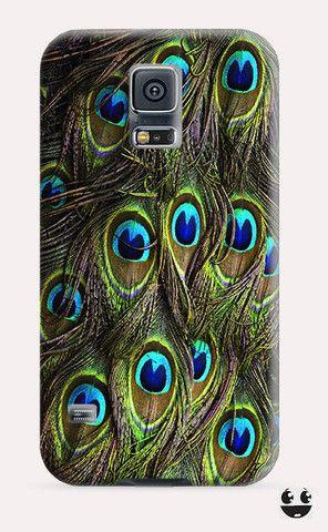 Peacock Feathers Galaxy Samsung S5, Galaxy Samsung S4, Galaxy Samsung S3