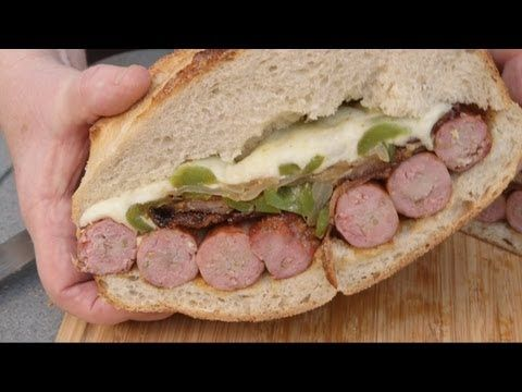 Sausage Sandwich BBQ Pit Boys Style