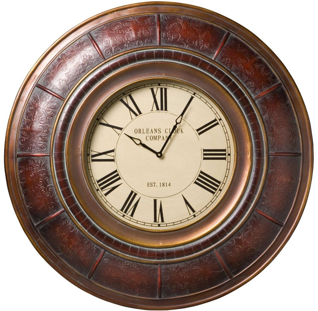 Sanaa oversized wall clock by cooper classics inches would