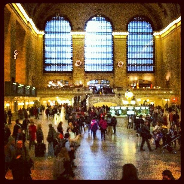 Busy day in Grand Central - @pgkarter- #webstagram