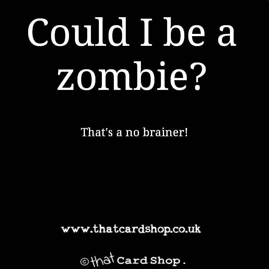 Follow us for hilarious greetings cards and daily jokes and memes zombie http · rude birthday