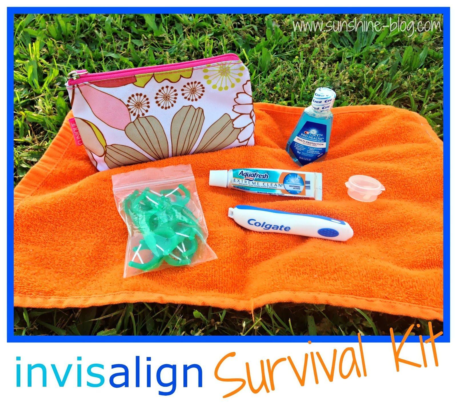 Sunshine! Invisalign Survival Kit Teeth care, Teeth