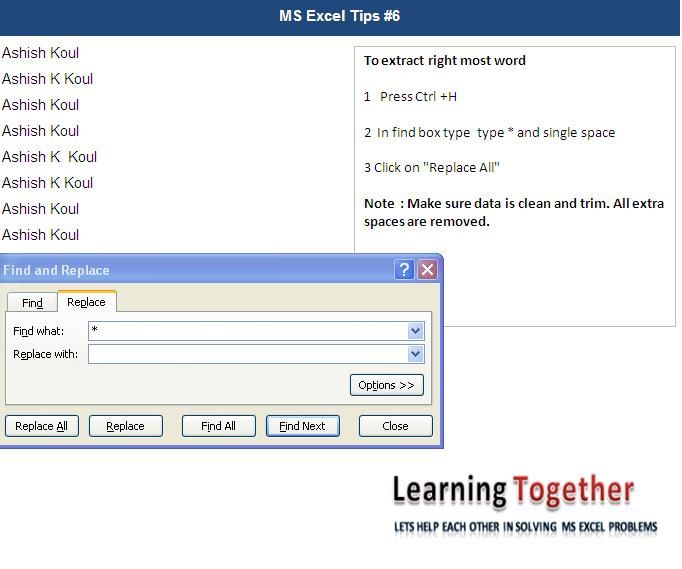 To extract right most word from a cells Excel VBA Macros  Codes