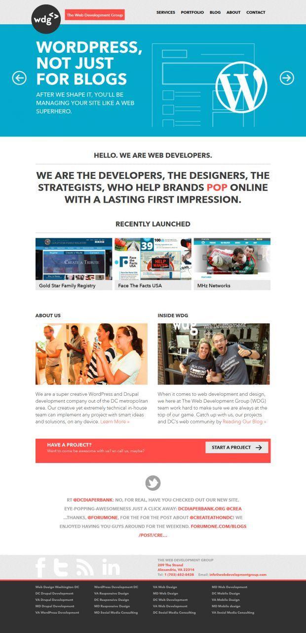 The Web Development Group Best Website Web Design Inspiration Showcase Web Development Web Design Web Design Inspiration