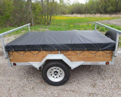 1 2 Place Canoe Or Kayak Trailer Kayak Camping Kayak