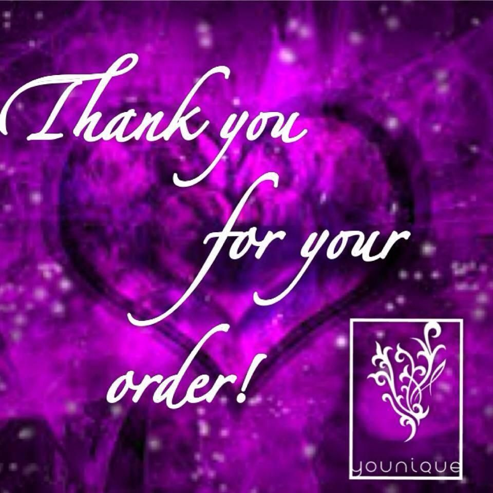 Thank You For Your Order Https Www Youniqueproducts Com